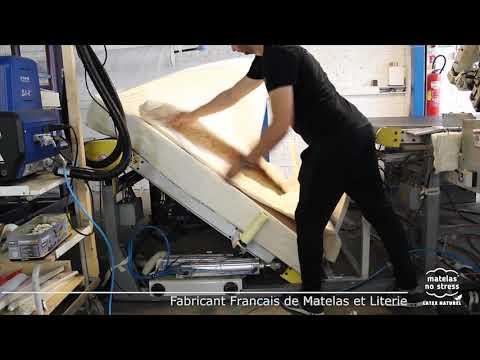 Fabricant Français De Matelas Latex Le Gansage Youtube