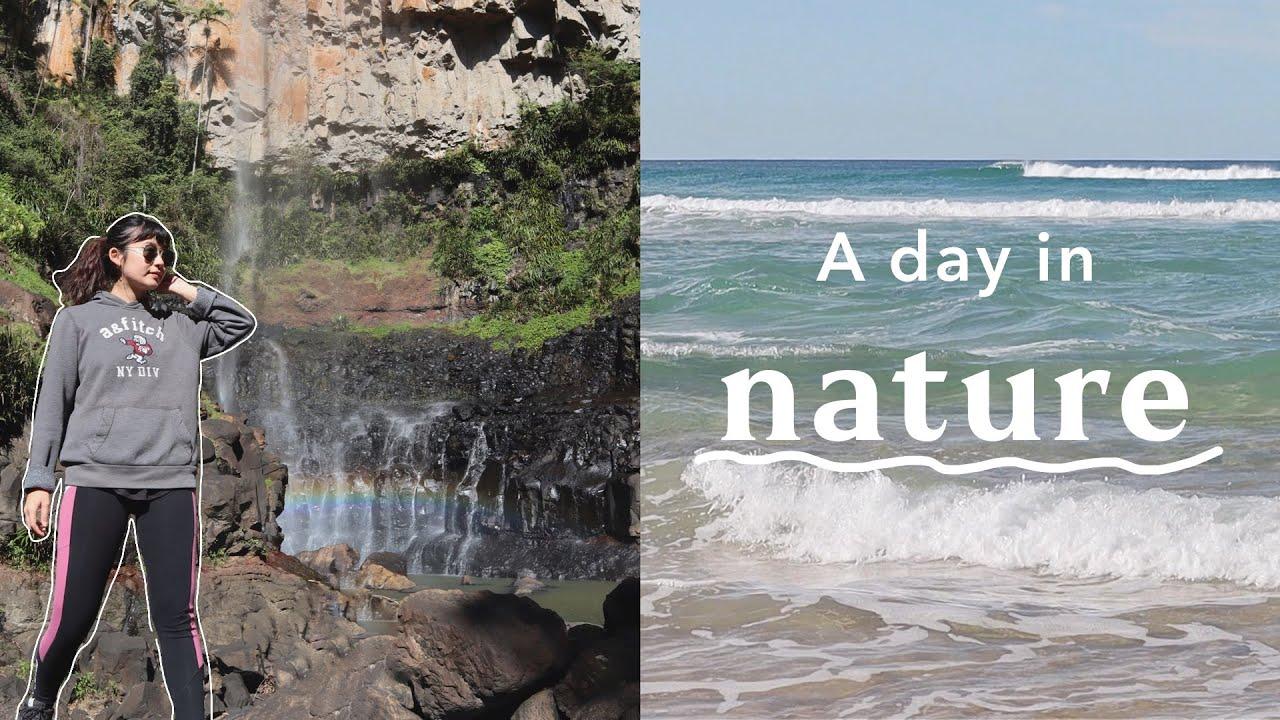 【オーストラリアの暮らし】大自然の中で過ごす1日。絶景の滝を見たり、ビーチに行って心が洗われました。
