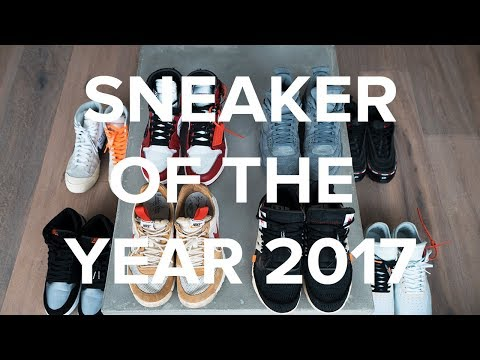 THE VISION® EP 7 (FIRST VIDEO PODCAST) • SNEAKER OF THE YEAR 2017