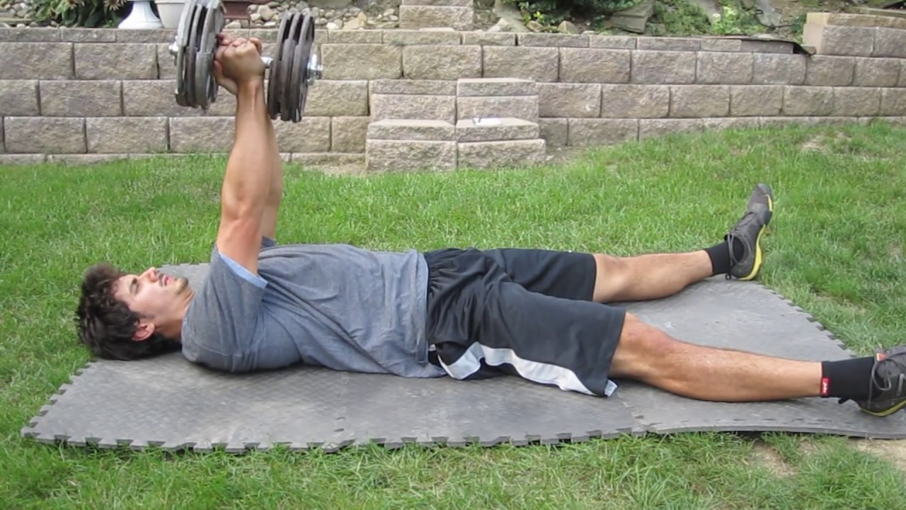 Dumbbell Floor Presses for Strength, Size, and Health | T Nation