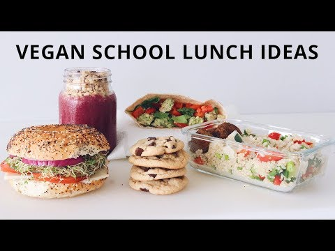 Back to School: Portable Vegan Lunch Ideas