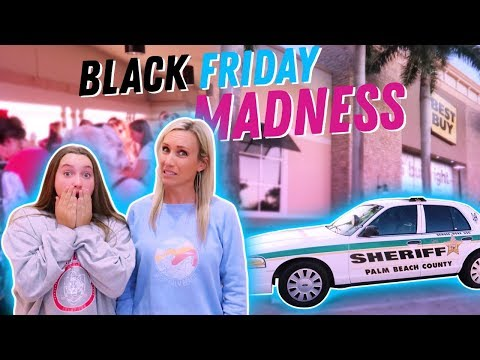 SHOCKING Black Friday Madness! Its R Life
