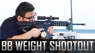 BB Weight Shootout! Best BB for Your AEG - Airsoft GI