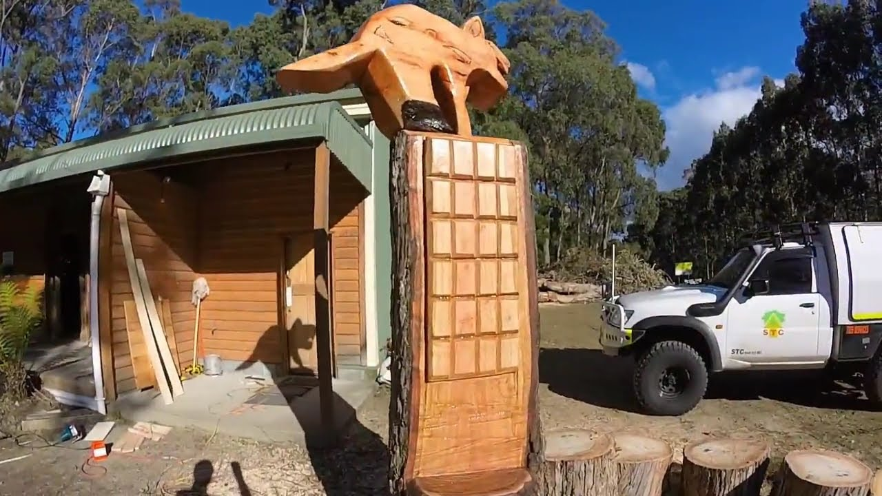 Chainsaw carving youtube