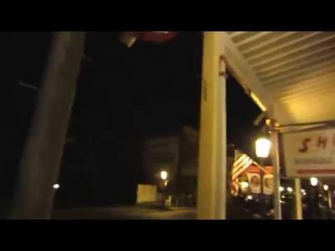Walking The Streets Of Virginia City Nevada At Night