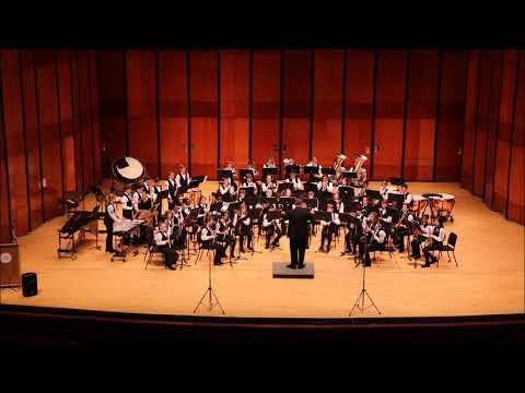 Fantasy on an African-American Spiritual preformed by the League City Intermediate Band