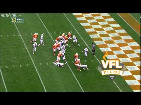 Tennessee vs. Chattanooga - Justin Worley Rushing TD #1