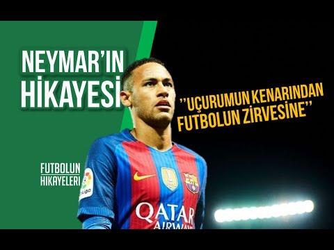 Uçurumun kenarından futbolun zirvesine: Neymar'ın Hikayesi