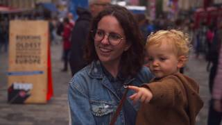 Families at the Edinburgh Festivals