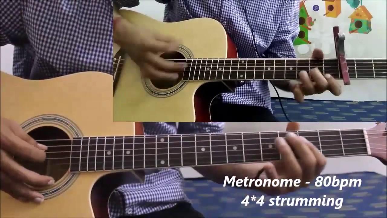 Romantic Lead Song Hindi Tabs Easy Kjbb Guitar Lesson Chords Tabs