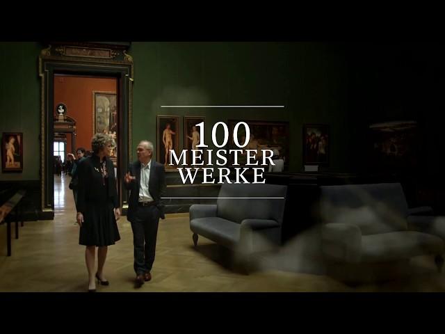 100 Meisterwerke - Wien vom Belvedere - Bernardo Bellotto