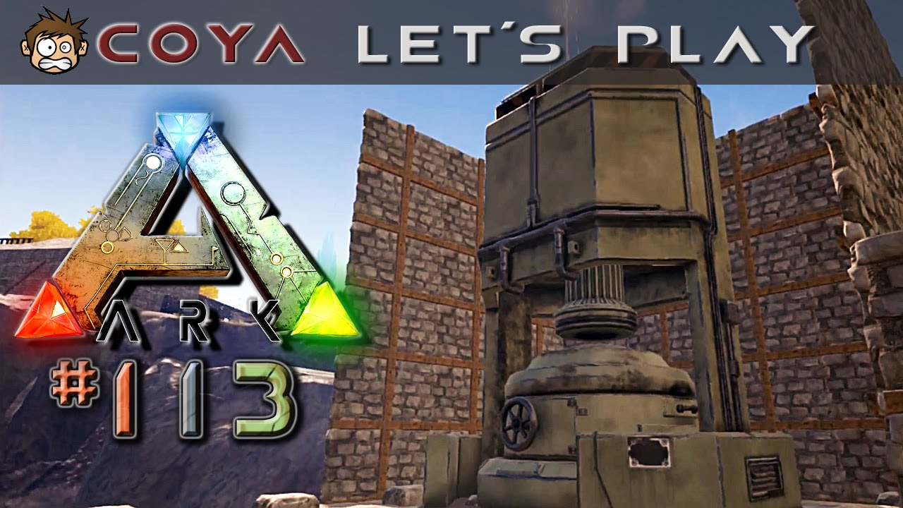 Ark Survival Evolved 113 Fabrik Mit Hochofen Lets Play Ark