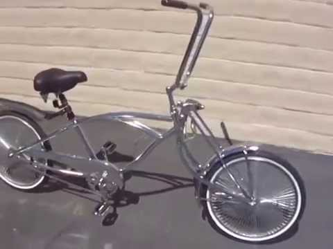 Stretch Lowrider With 26 Bent Fork Youtube
