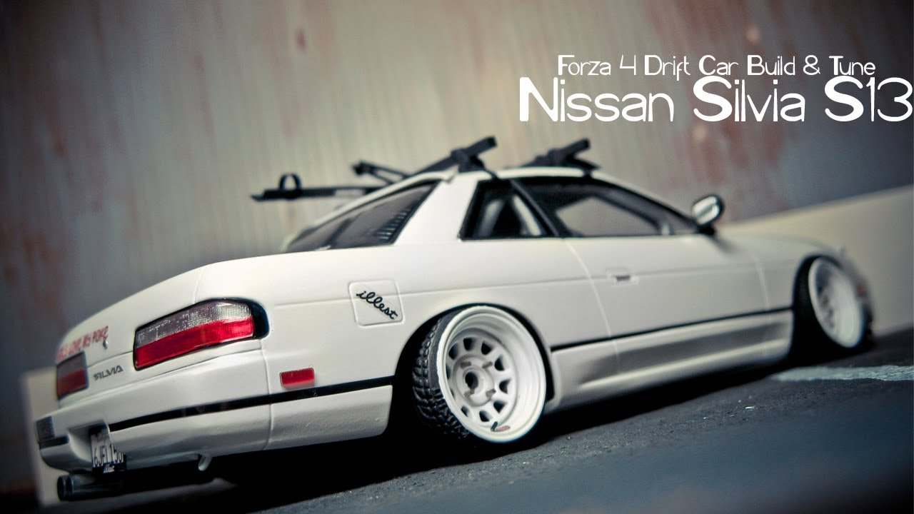 Forza 4 Drift Car Building & Tuning - #5 - Silvia S13 ...