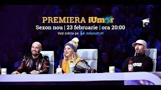 Nu rata PREMIERA noului sezon iUmor, sâmbătă de la ora 20.00 la Antena 1