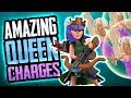 AMAZING QUEEN CHARGES - CRIPPLE BASES WITH WALLBREAKERS!