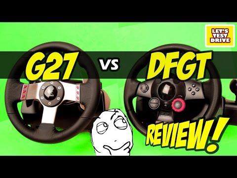Logitech G27 vs Logitech Driving Force GTComparison Review