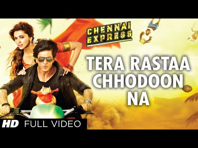 Tera Rastaa Chennai Express Full Video Song HD | Shahrukh Khan, Deepika Padukone Travel Video