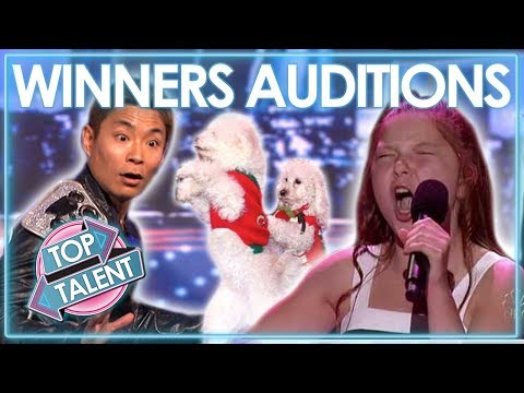 INCREDIBLE Winners Auditions 2006-2016 | America's Got Talent | Top Talent