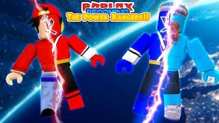 ROBLOX Adventure - BECOMING THE POWER RANGERS!!!