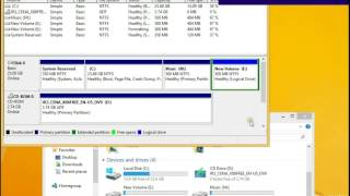 How to resize hard disc drive in Windows 8 - 8.1