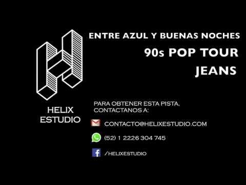 Entre azul y buenas noches (90s Pop Tour) (Instrumental / Karaoke) - Jeans