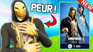 THEY ARE ALL MY NEW SKIN ''CIMETERRE'' ON FORTNITE!