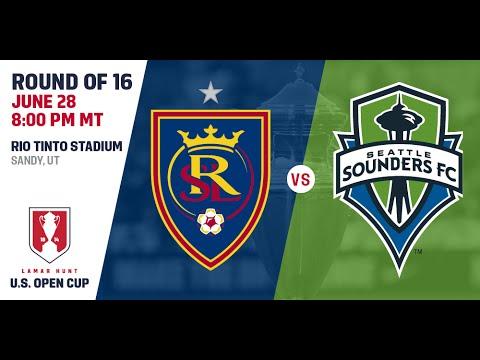 Lamar Hunt U.S. Open Cup - Round of 16: Real Salt Lake vs. Seattle Sounders FC - June 28, 2016