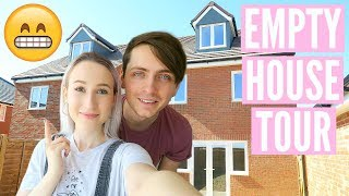 NEW EMPTY HOUSE TOUR | Moving Vlog 2