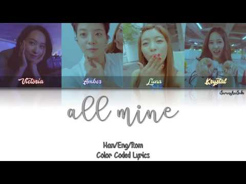 f(x) – All Mine [Color Coded Han|Rom|Eng]