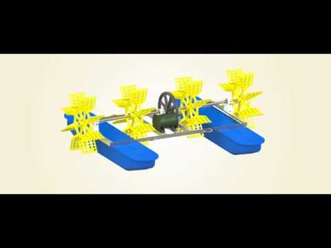 Paddle Wheel Aerator with out Gear Box
