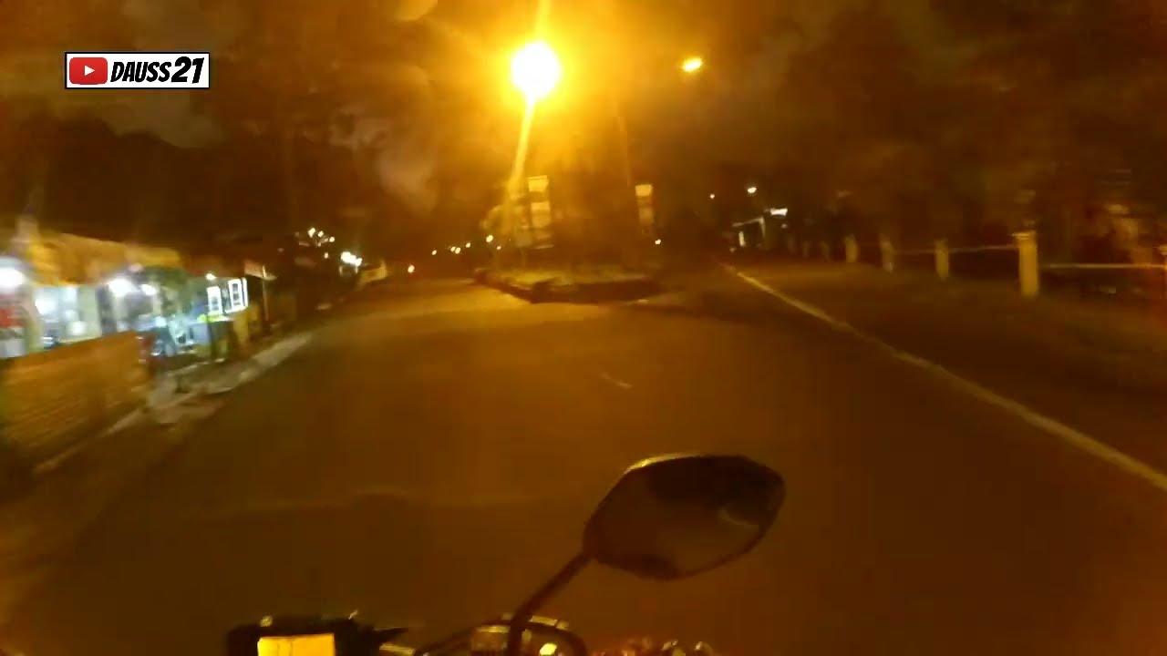 Wisata Kaliurang Taman Nasional Gunung Merapi Malam Hari sepi