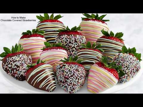 How to Make the Best Chocolate Covered Strawberries