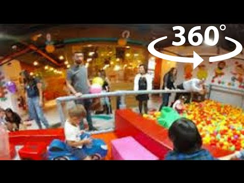 360 Video Indoor Playground Family Fun for Kids Play Playroom Pool Balls | The Childhood Life 2