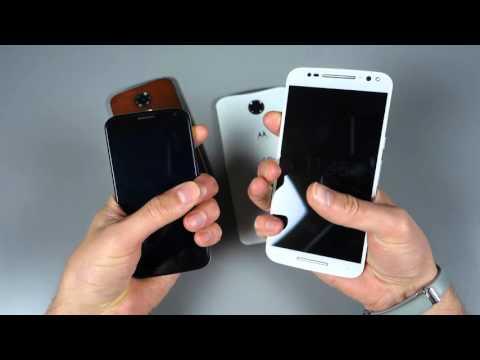Moto X Pure vs. Moto X (1st and 2nd Gen) vs. Nexus 6