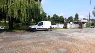 Aire de stationnement  camping car de La Suze sur Sarthe (72-Sarthe)