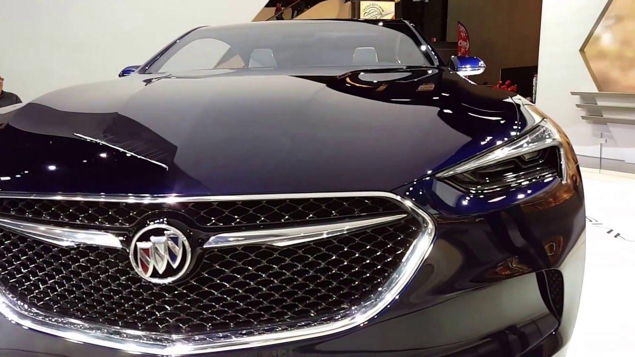 2017 buick avista concept exterior walkaround 2016 chicago auto show youtube. Black Bedroom Furniture Sets. Home Design Ideas