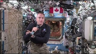 Career - Questions and answers with David Saint-Jacques live from space