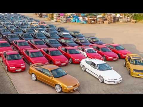 Opel CALIBRA - Treffen ECD 2016 The Drive
