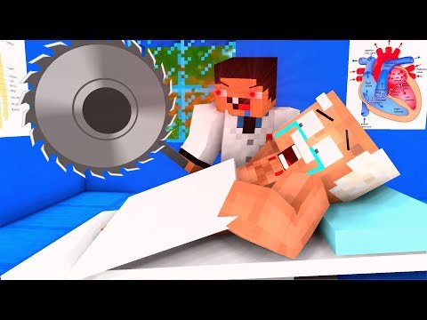 Dr. Noob Life - Operation 4 - Craftronix Minecraft Animation