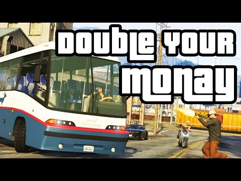 GTA 5 - BUS ASSASSINATION #55 - Xbox One / PS4 (DOUBLE YOUR MONEY)