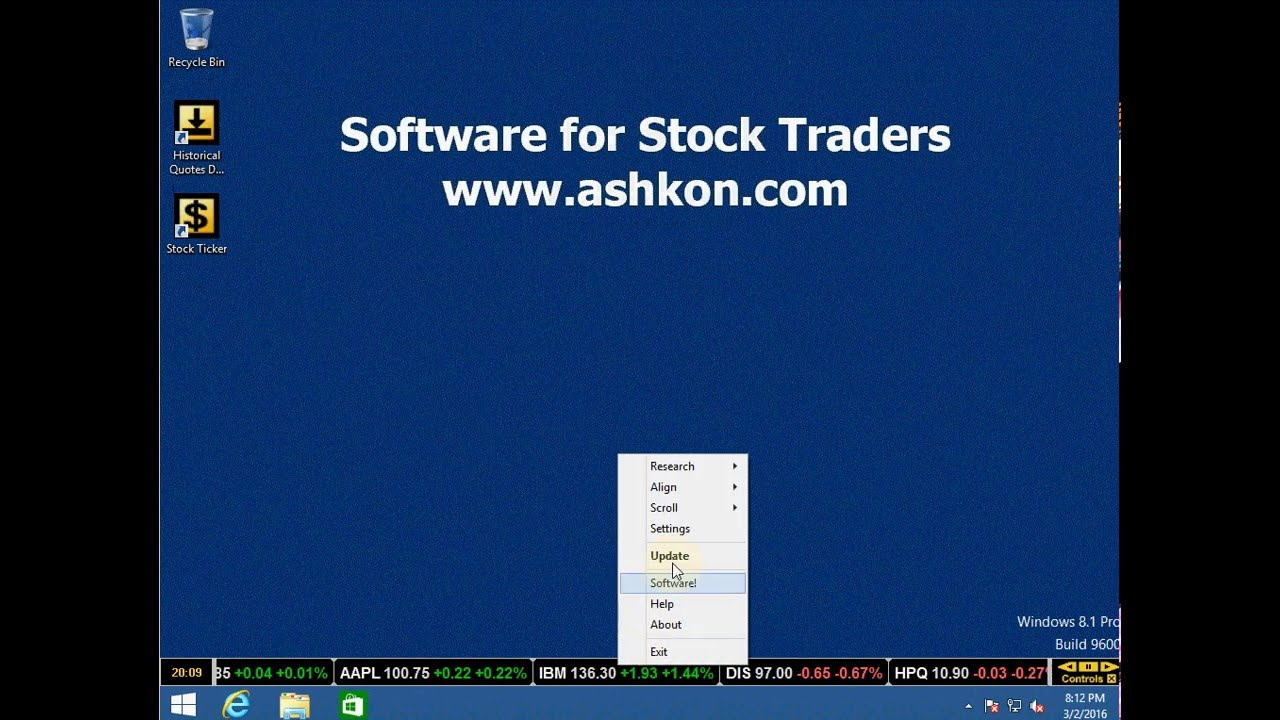 Ticker symbol dis choice image symbol and sign ideas stock ticker software for your desktop youtube stock ticker software for your desktop buycottarizona choice image buycottarizona Images