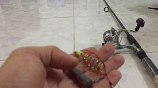 cách làm thẻo chì câu và lưỡi câu đỡ tốn kém nhất khi mắt gốc- câu cá sông