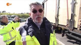 Schwerlastkontrollen auf der Autobahn A5