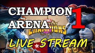 The Champion Arena - Part 1 | Marvel Contest of Champions Live Stream