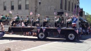 2014 - July 4 parade - city band - Port Washington, WI