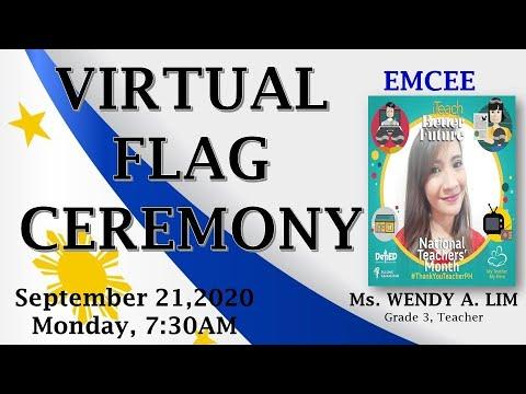 SITIO TAPAYAN ES VIRTUAL FLAG CEREMONY  SEPTEMBER 21,2020