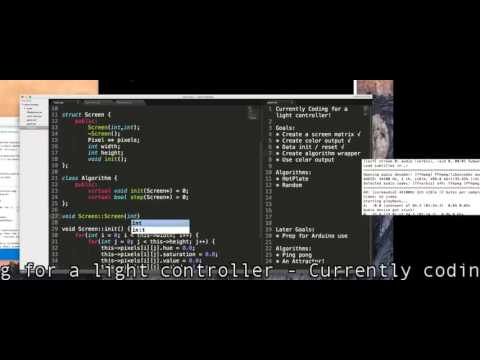 Code session 01 - Light Controller basic framework