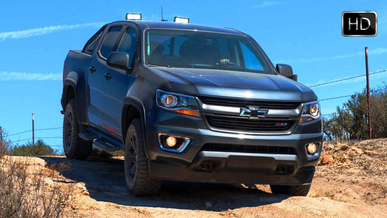 2016 Chevrolet Colorado Z71 Trail Boss Duramax Sel Off Road Test Drive Hd