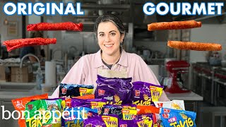 Pastry Chef Attempts to Make Gourmet Takis | Gourmet Makes | Bon Appétit Video
